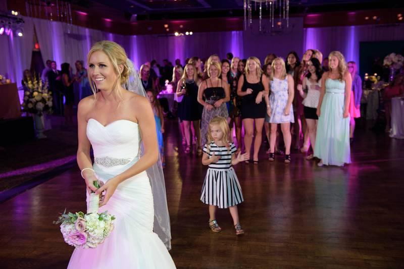1a31ebbb1e2 Alyssa and Craig s Romantic Pink Wedding