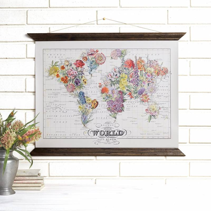 Wedding gift idea vintage maps san francisco gift registry we especially love the world map covered in colorful butterflies a perfectly unusual wedding gift for the globe trotting couples out there gumiabroncs Images