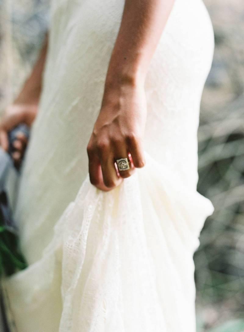 Tropical Minimal Wedding Decor At Haiku Sugar Mill Maui Real