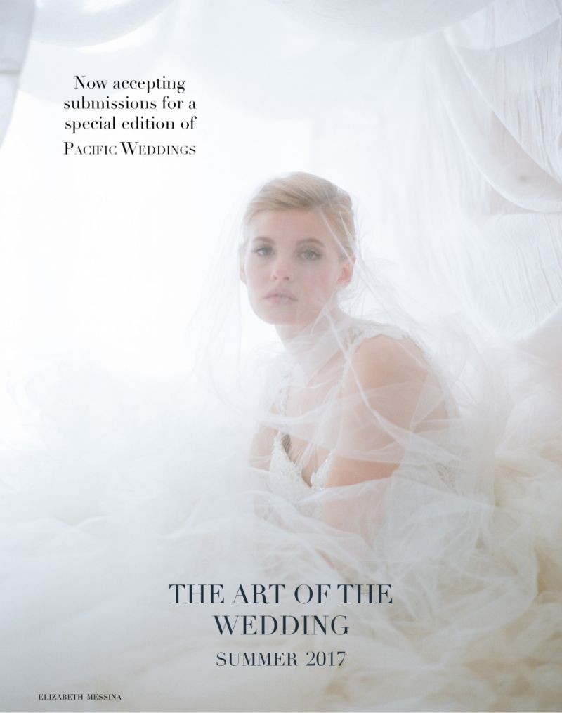 A Call for Submissions: The Art of the Wedding   Submit to