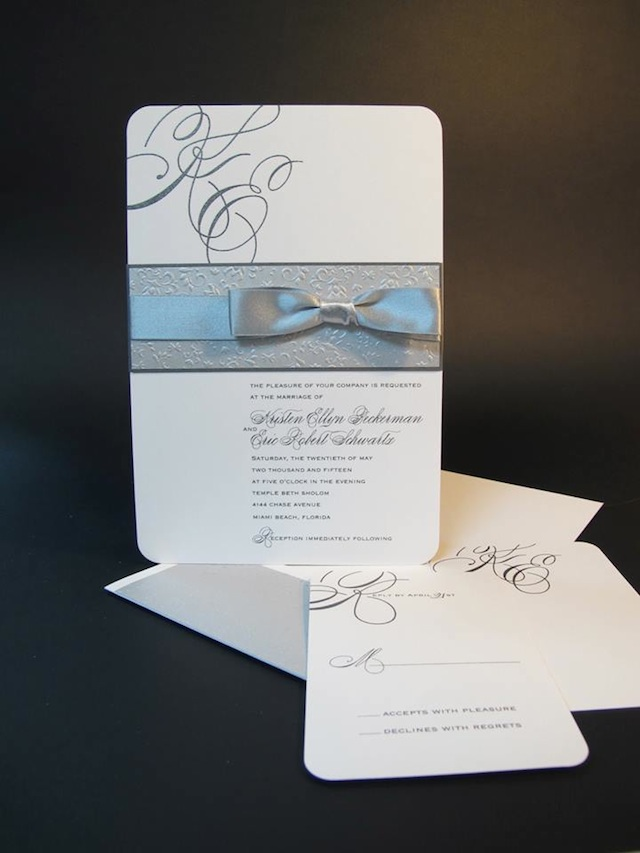 Traditional Wedding Invitations, Customizable For The Classic ...