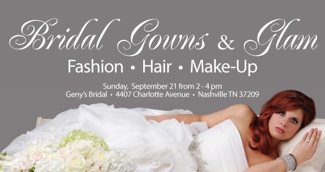 Wedding Dress Nashville 48 Cute bridal glam gowns workshop