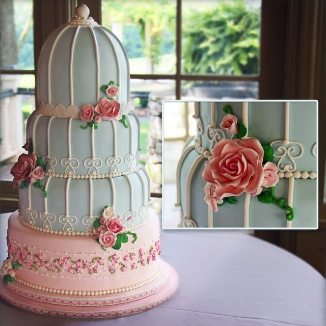 "Spring Wedding Cakes: Sweetface Cakes Says, ""think Seasonal & Local,"" With"