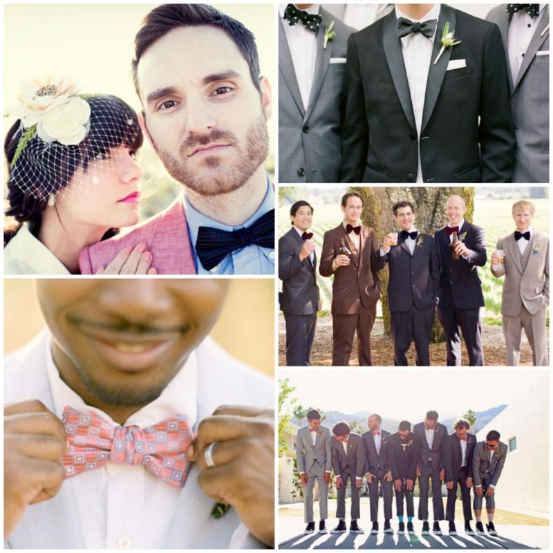 In Pictures The Groomsmen Can Get Playful Rocking Suspenders Or Printed Socks To Match Their Perfectly Quirky Bow Tie Not Mention Ties Make A