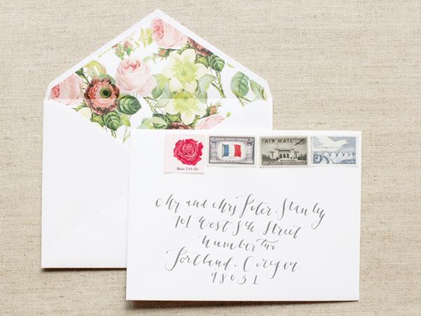 la happy wedding invitations - Wedding Invitation Envelope Etiquette