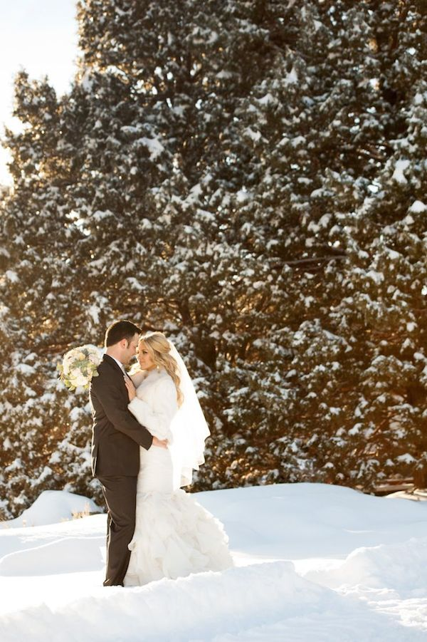 California Winter Wedding Dress Ideas Lake Tahoe