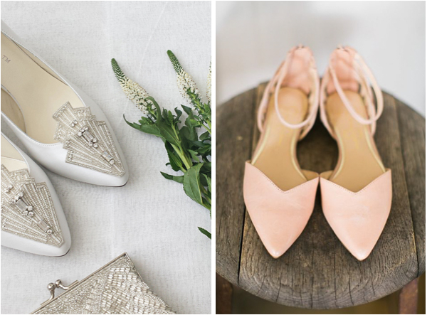 Skip the Heels! Chic and Comfortable Bridal Flats Are Totally In ...