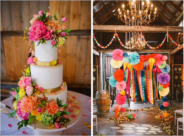 Don't Be Afraid of Bright Wedding Colors | Lake Tahoe ...