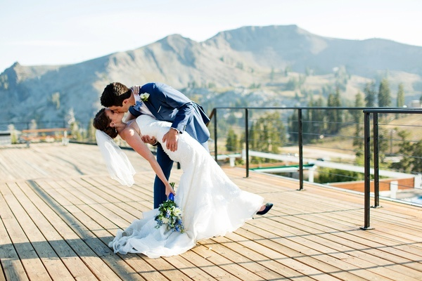 Tahoe campground wedding