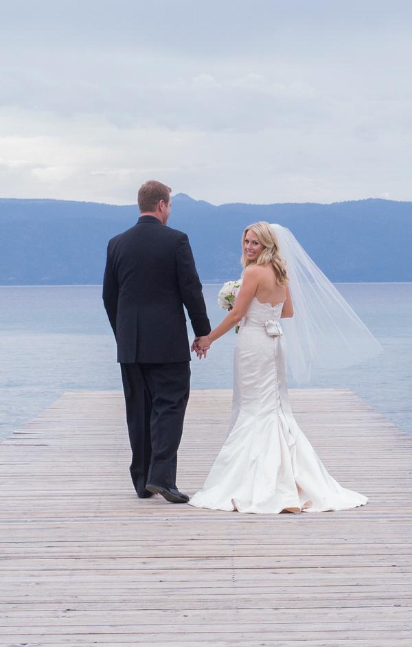 Romantic Sugar Pine Point State Park Wedding Lake Tahoe