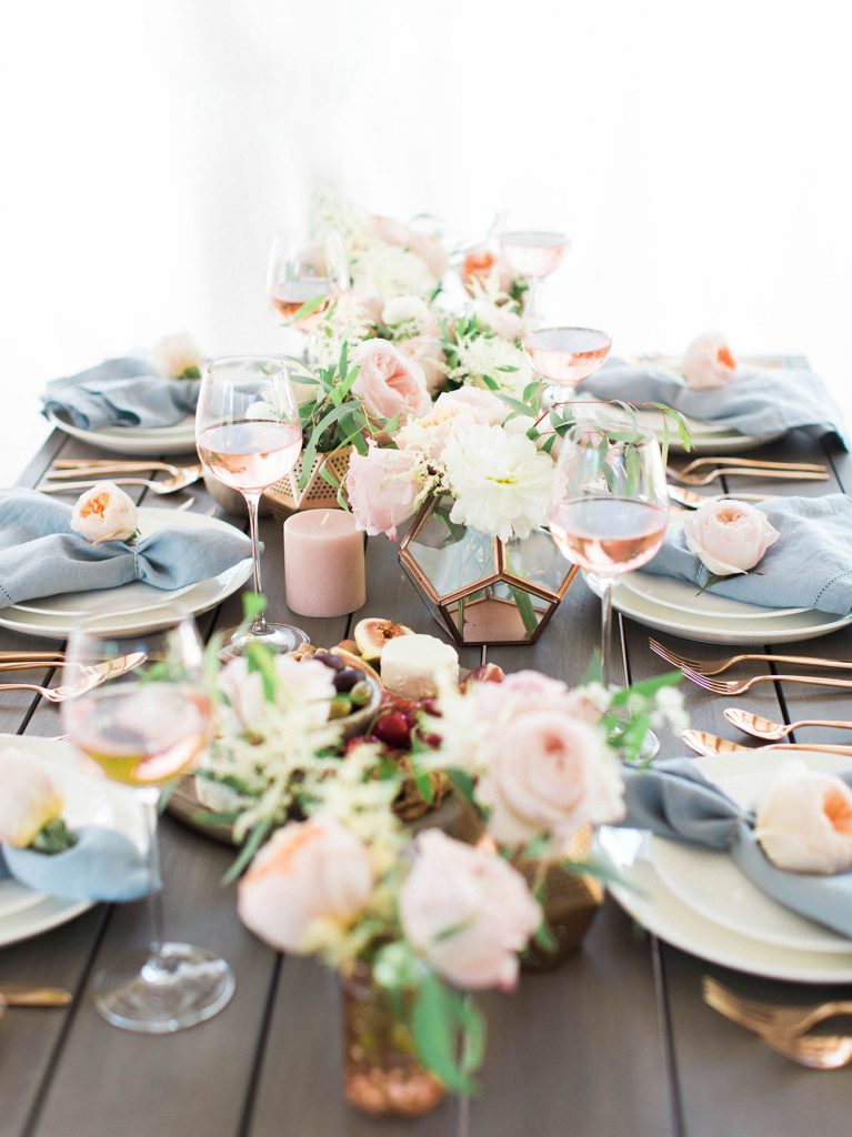 Planning Your Wedding With A Blush And Rose Gold Color Scheme