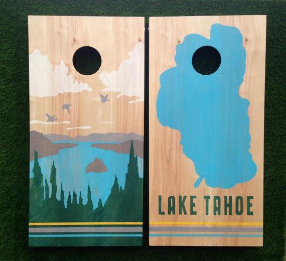 Lake Wedding Ideas: Lake Tahoe Inspiration Boards