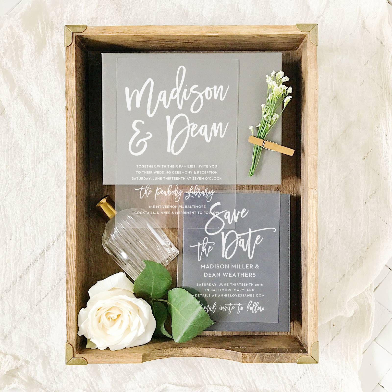 BEAUTIFUL WEDDING INVITATION SUITES FROM