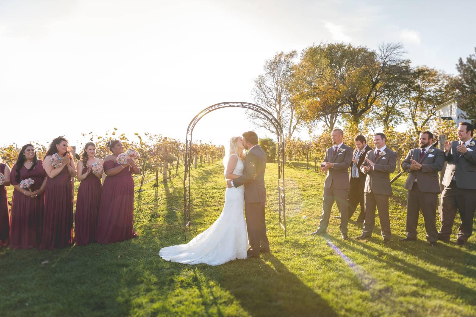 RUSTIC DIY WISCONSIN BARN WEDDING
