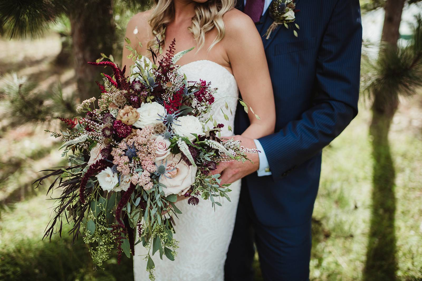 NORTHWOODS ROMANCE IN DUSTY ROSE AND MULBERRY HUES