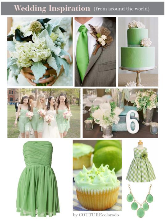 Mint green wedding inspiration colorado junglespirit Images