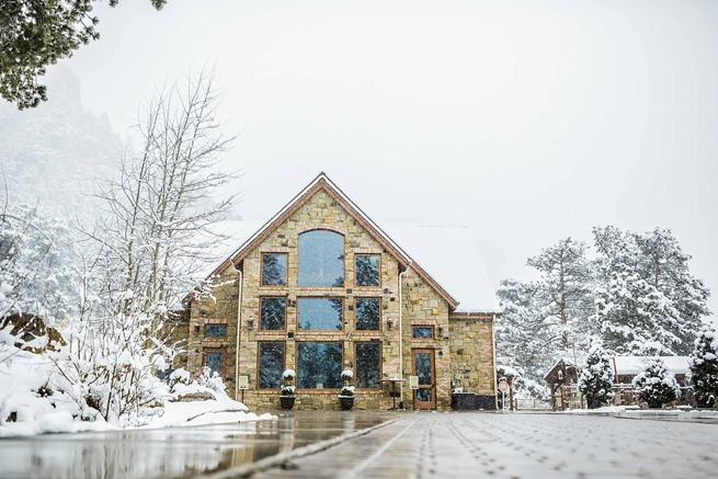 Winter Wedding In Estes Park