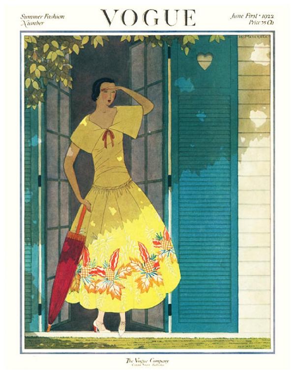 1920\'s Vogue Cover: Artsy Tot | Colorado