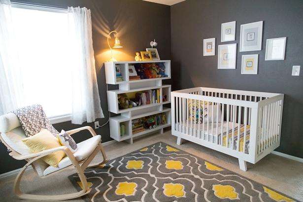 Yellow Amp Gray Nursery For A Boy Colorado Nursery Amp Kids