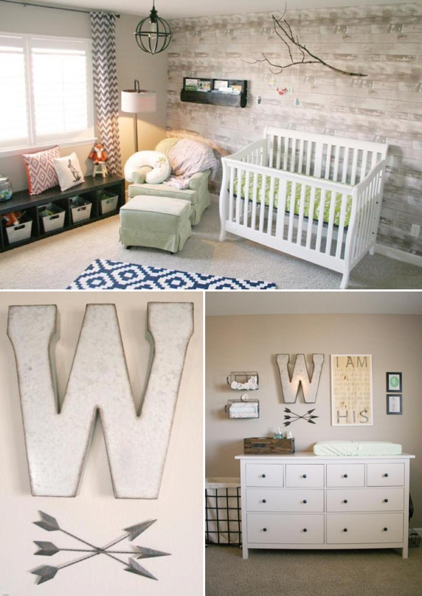 Rustic Nursery Colorado Kids Rooms