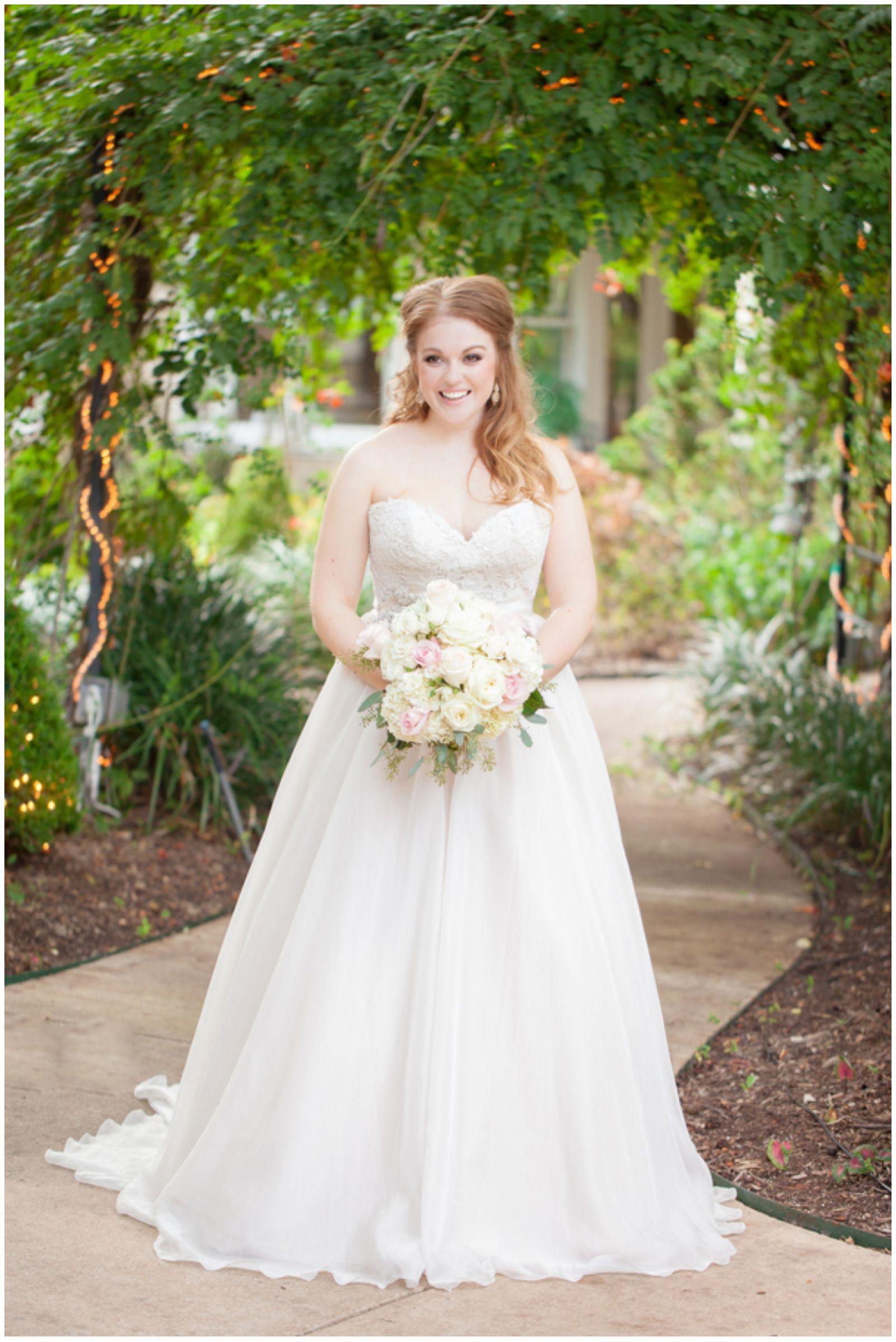 Golden Garden Party Wedding | Texas Real Weddings