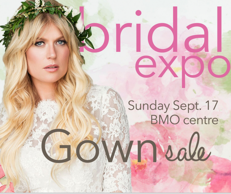 Bridal Expo is Calgary\'s Largest Wedding Gown Sale!   Calgary Features
