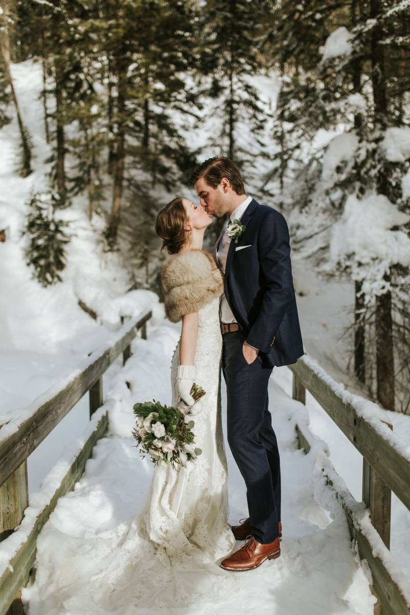 Gorgeous Winter Wedding At Emerald Lake Lodge