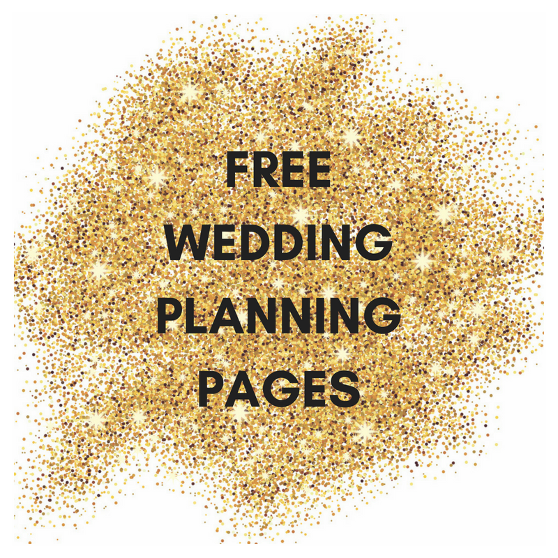 get your free wedding planning pages calgary