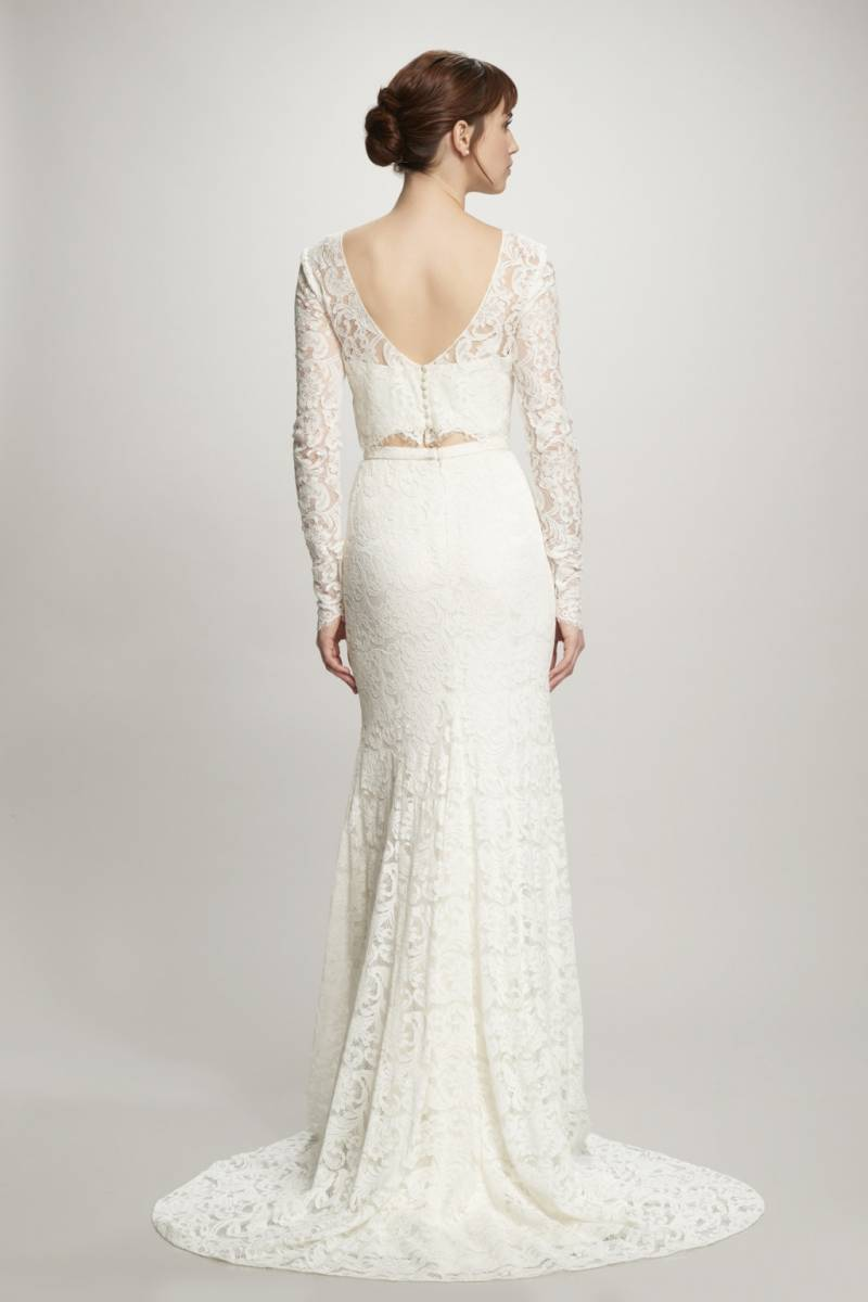 The Most Beautiful Bohemian Wedding Gowns | Calgary Bridal Shop ...