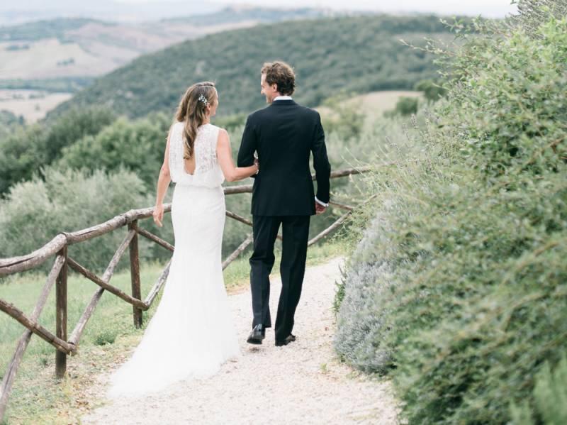 Intimate Destination Wedding In Tuscany