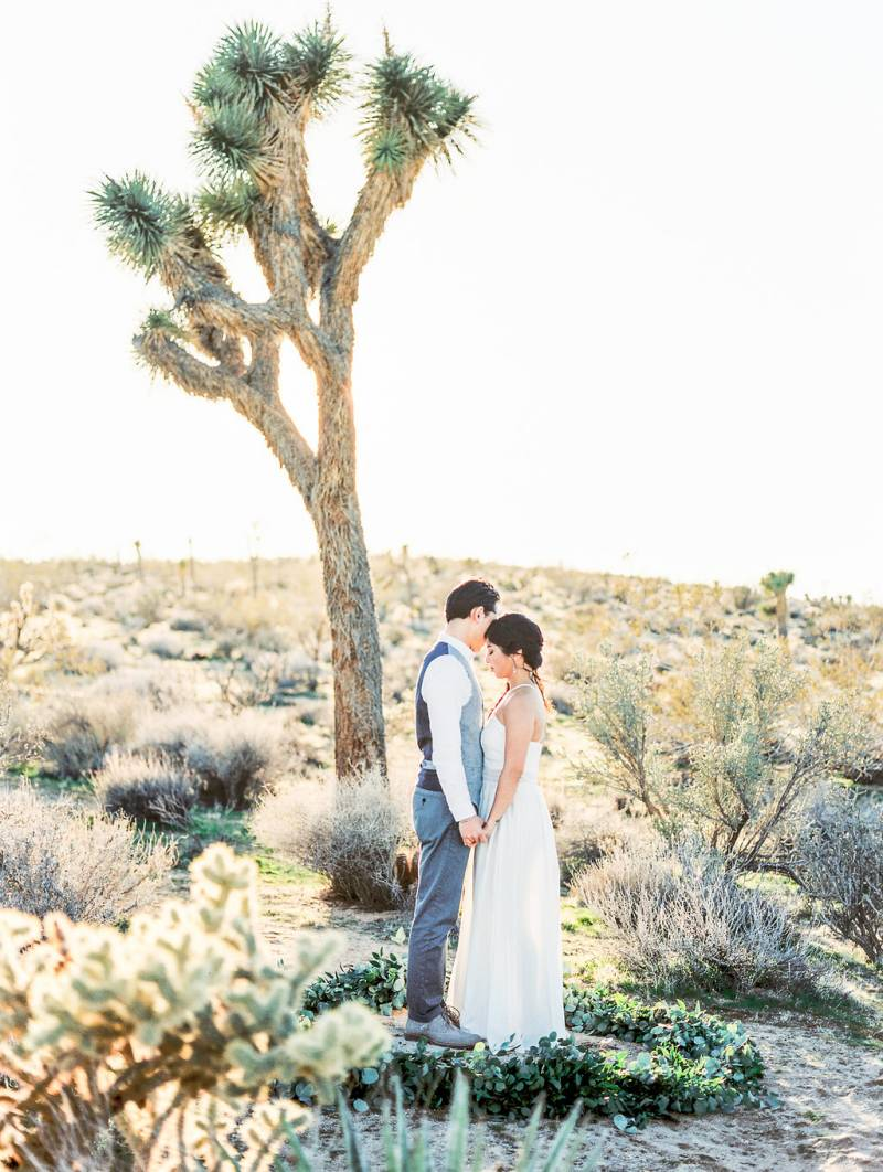 The Most Adorable Joshua Tree Engagement Shoot Joshua Tree Engagement