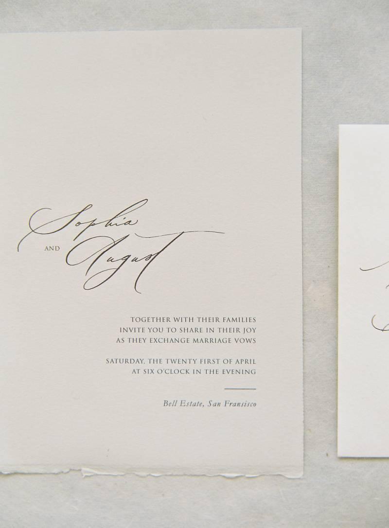 Minimalist: Light Tones - Editorial | San Francisco Wedding
