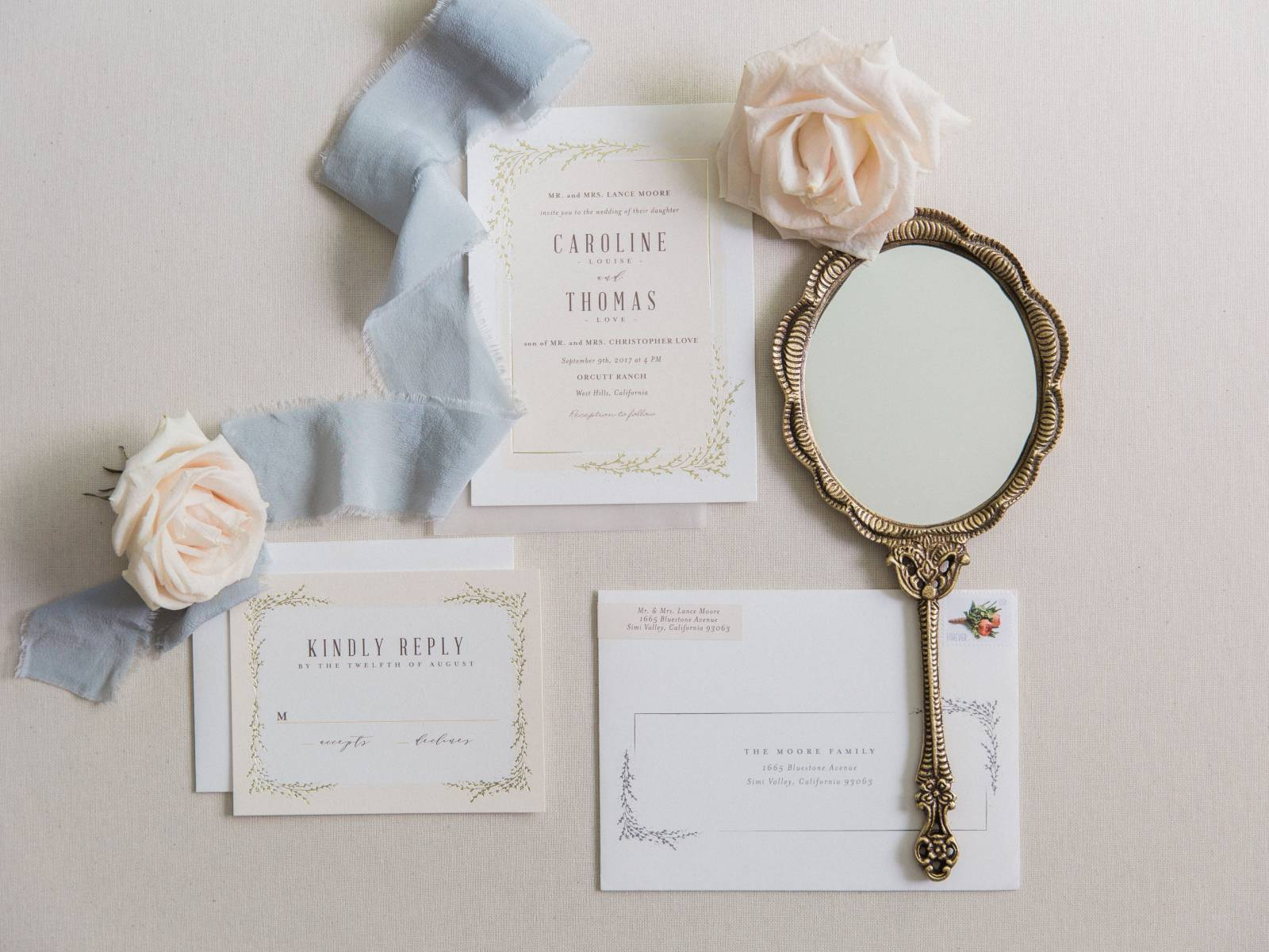 Simple heartfelt Southern California wedding honouring family ...
