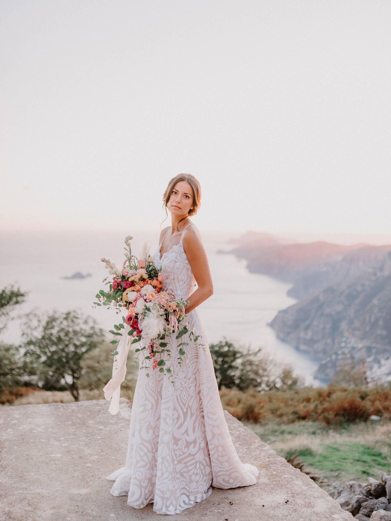 Colourful And Dreamy Romance On The Amalfi Coast Italian