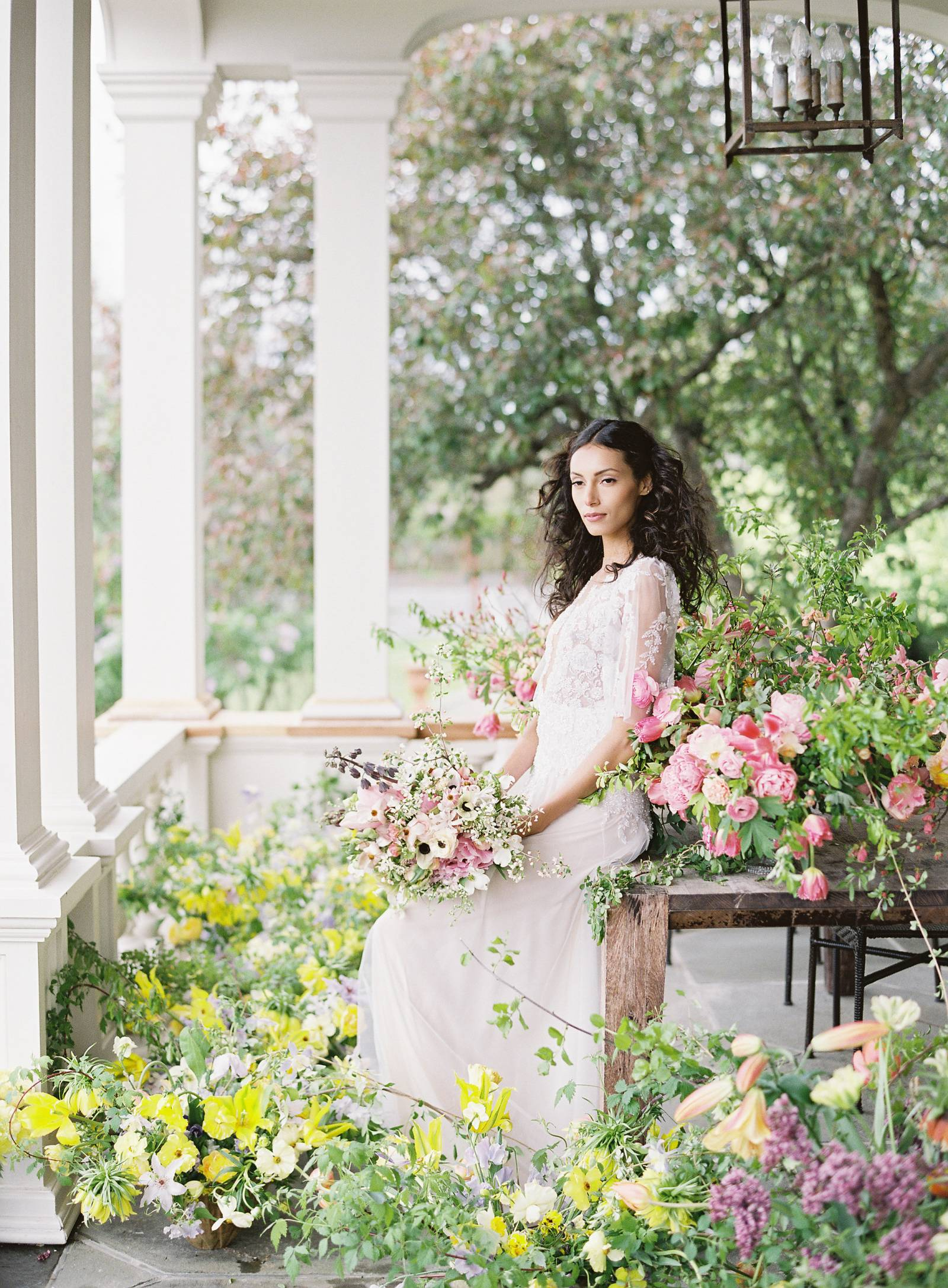 A Whimsical Floral Workshop At Ham House By Ariella Chezar New