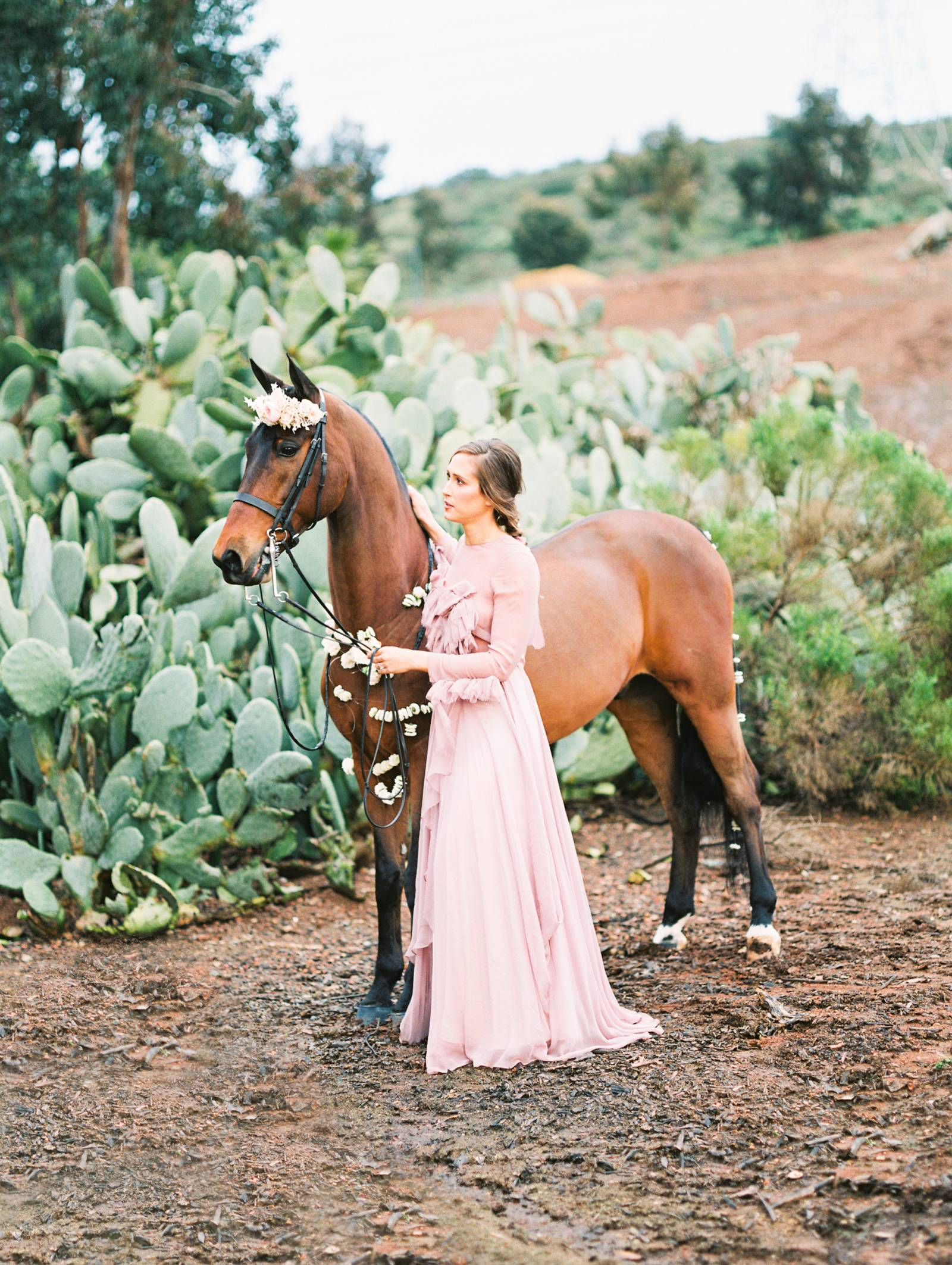 Fierce Feminine Equestrian Inspired Bridal Editorial San Diego Wedding Inspiration