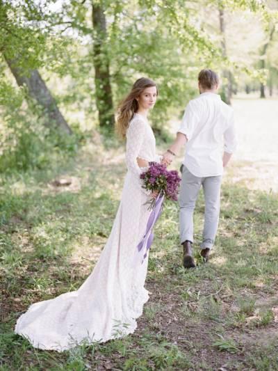 Beauty Floral Crown Wedding Long Sleeve Wedding Wedding Dresses