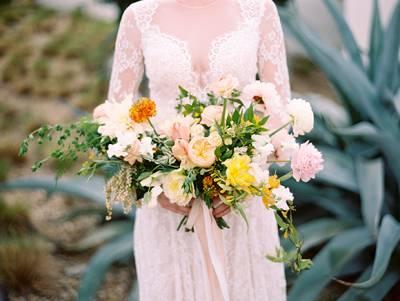 Peach And Yellow Wedding Ideas