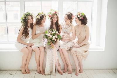 spring bridal shower ideas by marzipan wedding