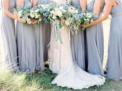Elegant Blue And Ivory Winnipeg Wedding