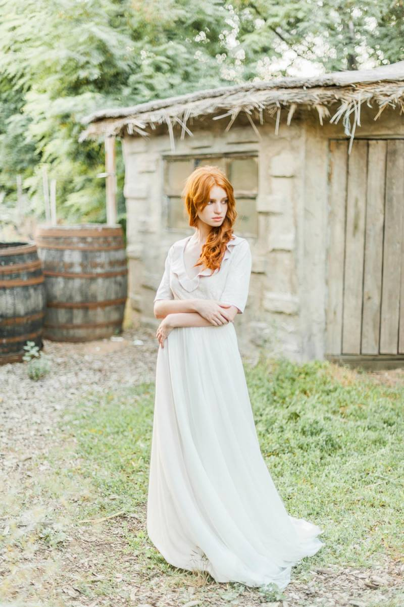 Nostalgic Country Bridals on a Ukrainian Farm Ukraine Bridal