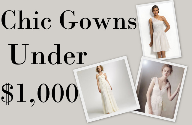 (Click Pictures Or Heading To Find Out More About The Dress!) J. Crew  Silk  Chiffon Savoie Gown  $850 · Cheap Wedding Dress