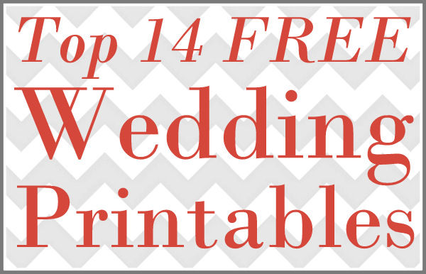 picture relating to Free Printable Banners and Signs identify 14 Free of charge Do it yourself Marriage ceremony Printables