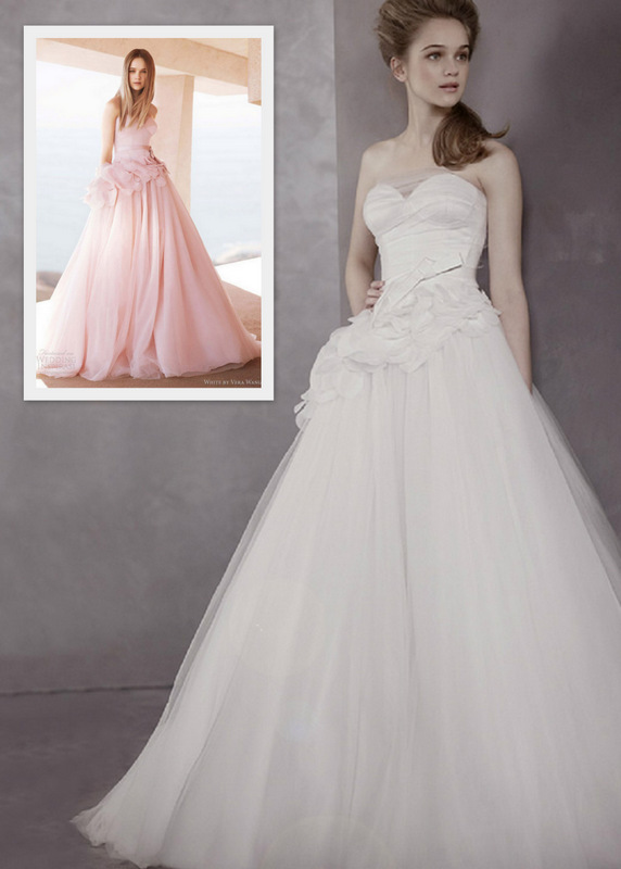 White By Vera Wang For David\'s Bridal: 2012 Collection