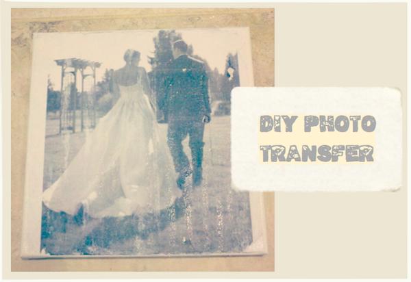 Diy Photo Transfer To Canvas