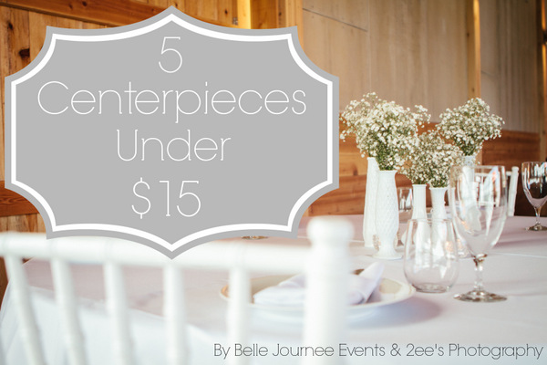 5 centerpieces under 15 by belle journee events 5 centerpieces under 15 junglespirit Image collections