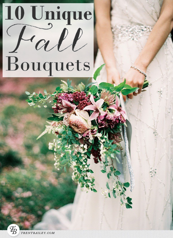 10 Unique Fall Bouquet Ideas