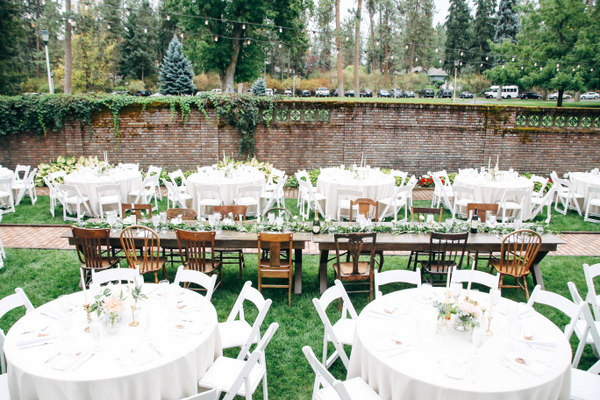 tip think of your table layout prior to doing floral centerpieces would vary greatly if doing round or rectangle tables or one long massive table