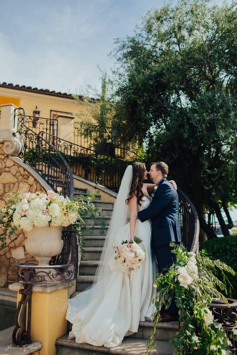 Italian Villa Wedding In California Wine Country Paso Robles Real Weddings