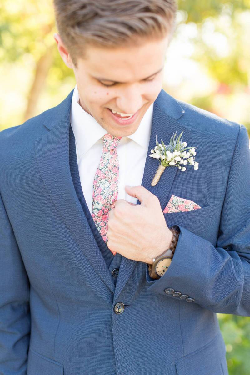 Floral Ties and Bow Ties for the Groom from Stag Handmade| San Luis ...